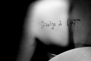 Passage à l'art