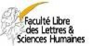 Université Catholique de Lille - Faculté Libre des Lettres et Sciences Humaines