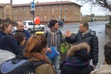 Les Accompagnateurs Touristiques/Réceptifs ont organisé des circuits dans Toulouse dans le cadre de leur formation.