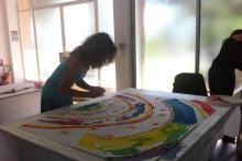 Stagiaires en formation d'art-thérapie