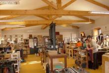 Atelier pédagogique Reliure-Dorure