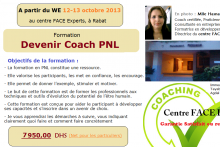 Cycle Devenir Coach en PNL