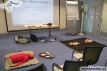 Initiation aux premiers secours et défibrillateur - Session AMD - Alerter Masser Défibriller