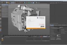 Cinema4D R15 en action (import CAD)