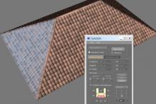 Toit tuiles 3D