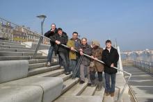 L'équipe de 3DWeave (en 2011)