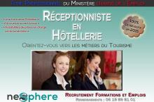 NEO SPHERE Réceptionniste en Hôtellerie