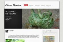 Site Portfolio artistique WordPress